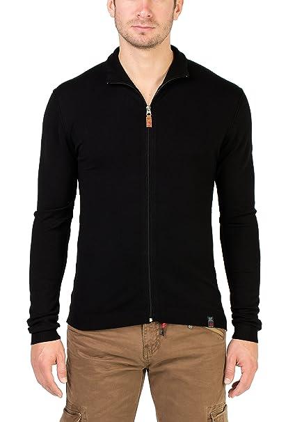 Timezone Basic Light Knit Jacket, Chaqueta Punto para Hombre: Amazon.es: Ropa y accesorios