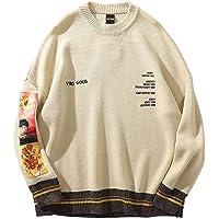 Mannen Trui Hiphop Pullover Streetwear van Gogh Painting Borduurwerk Gebreide Retro Vintage Herfst Wol Sweaters Mens…