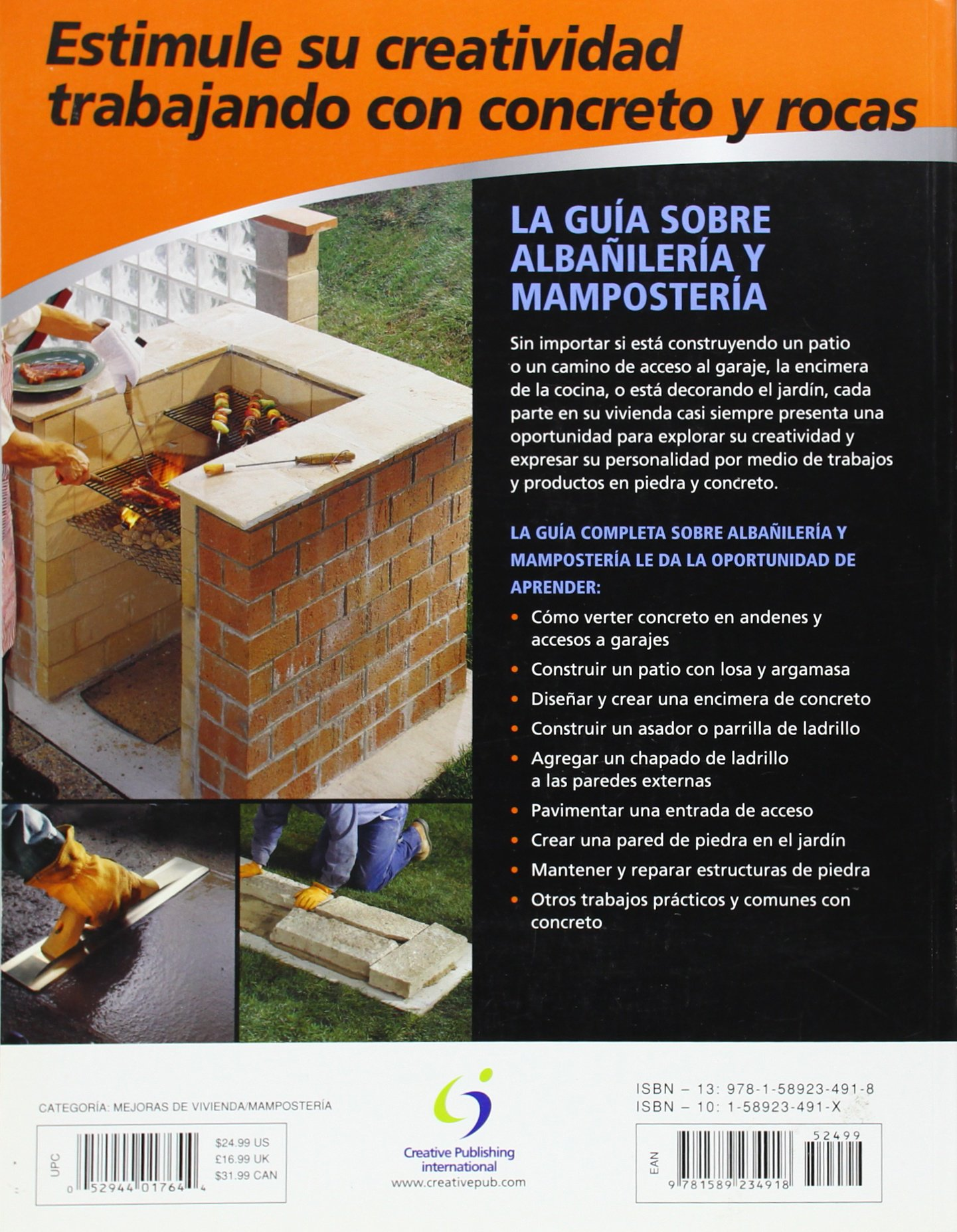 La Guia Completa sobre Albanileria y Mamposteria: Incluye trabajos decorativos en concreto (Black & Decker Complete Guide) (Spanish Edition): Editors of ...