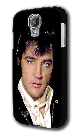 new styles a460e e2566 Amazon.com: Elvis Presley for Samsung Galaxy S4 Hard Case Cover ...