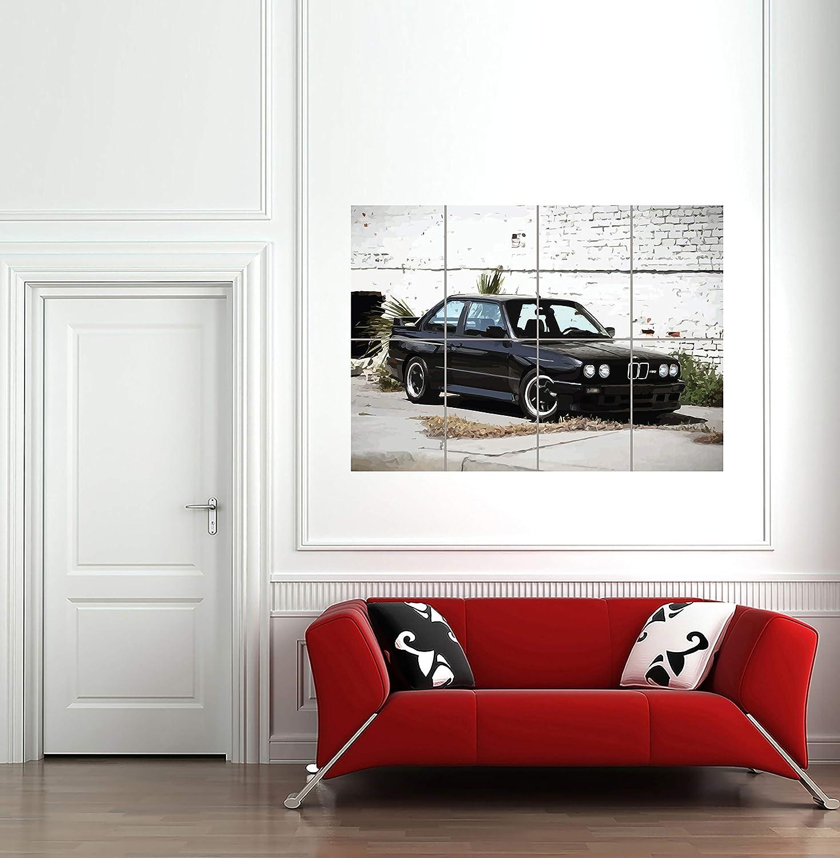 BMW E30 M3 SPORTS RALLY CAR KUNST NEU GIANT WALL POSTER PRINT NEW G1313 by Doppelganger33LTD