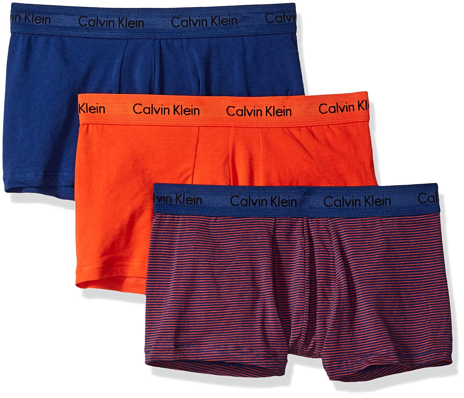 Calvin Klein Cotton Stretch 3 Pack Low Rise Trunks NU2664