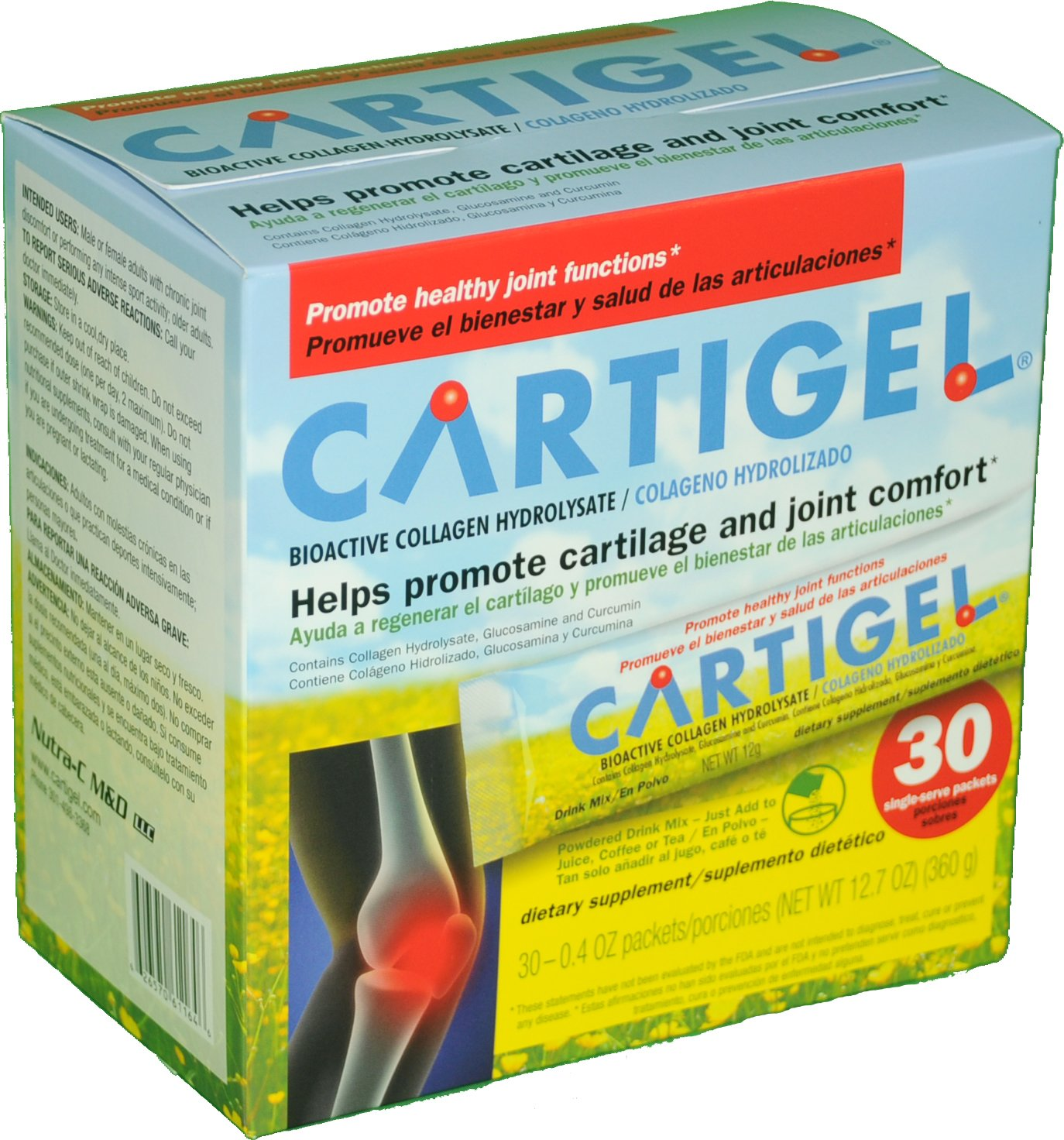 Amazon.com: Cartigel : the ultimate Joint pain releif formula: Health & Personal Care
