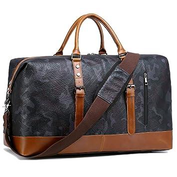 BLUBOON Weekender Overnight Bag Travel Duffle