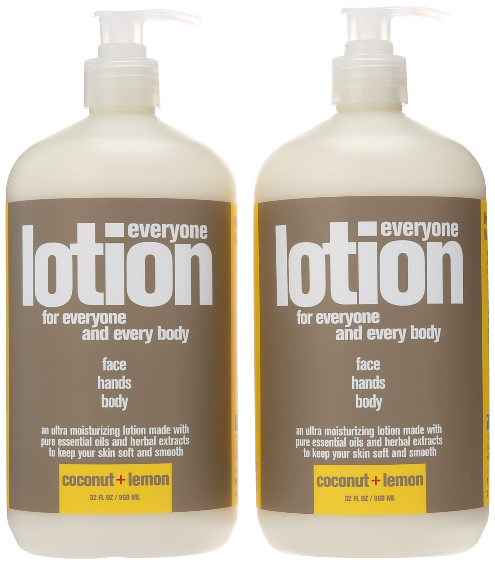 Everyone Lotion, Coconut and Lemon, 32 Ounce, 2 Count by Everyone (Image #3)