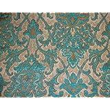 Marina Damask Chenille Upholstery Drapery Fabric By the Yard 57