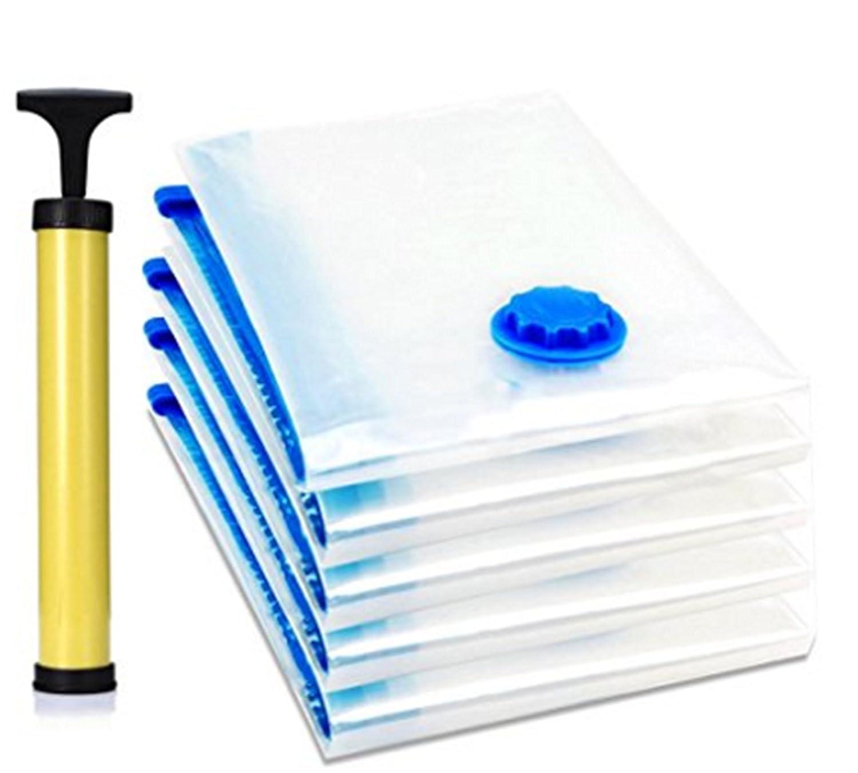 4 Pack Premium ahorro de espacio vacío comprimido bolsa de ...