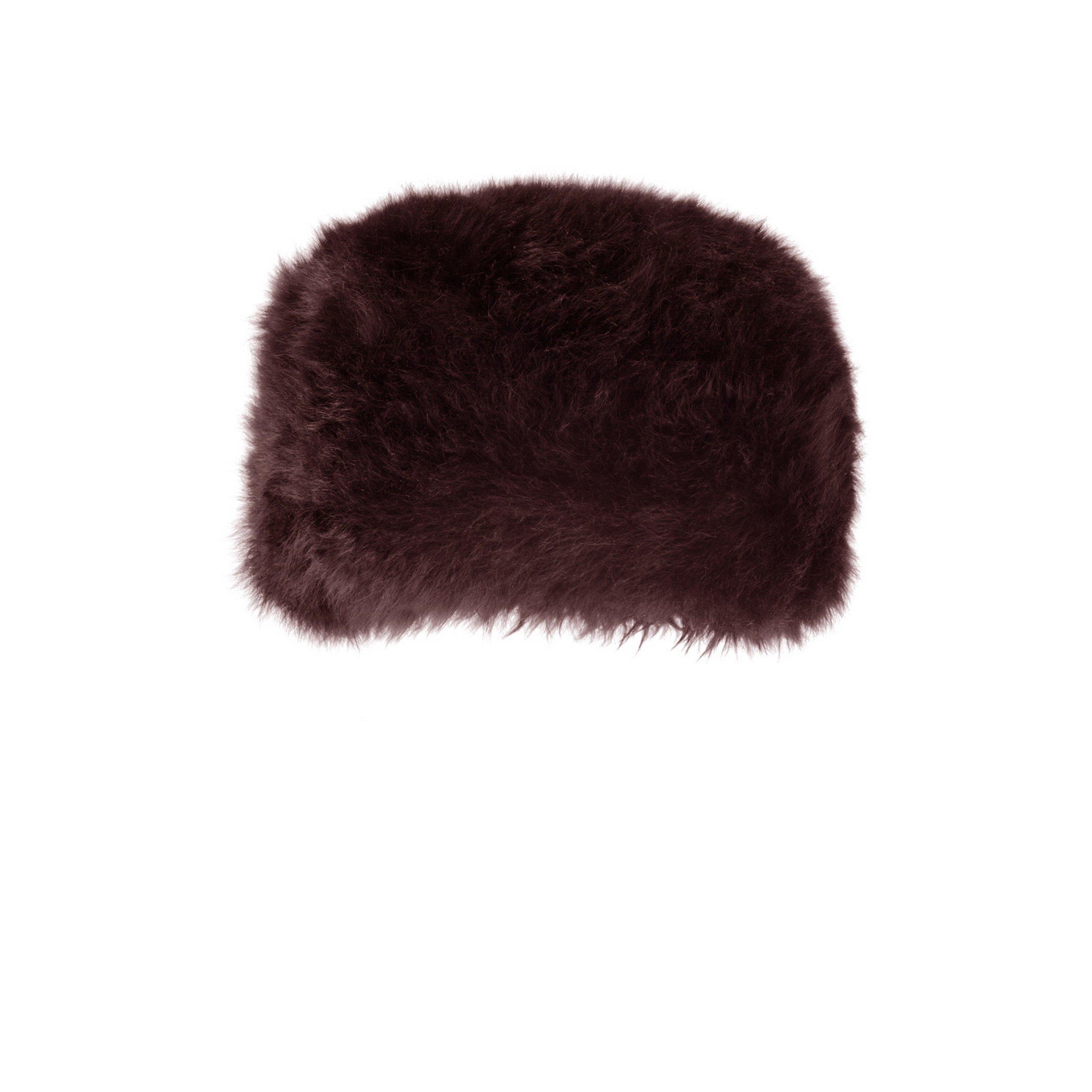 Eastern Counties Leather Womens/Ladies Diana Sheepskin Hat (M) (Brown)