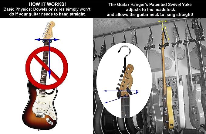 BSX 518220 - Soporte para guitarra TGH1001: Amazon.es: Instrumentos musicales