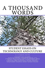 A Thousand Words (Student Essays Book 1) Kindle Edition