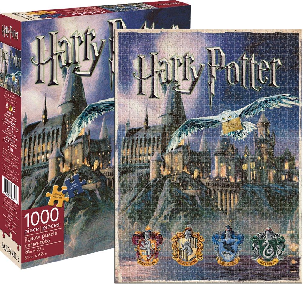 Aquarius Harry Potter Hogwarts Jigsaw Puzzle (1000-Piece) NMR Distribution 65252