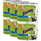 Bounty Despicable Me 3 Select-A-Size Paper Towels with Minion Prints VTkUqL, Huge Roll, 2 Pack (12 Count Minions Print)