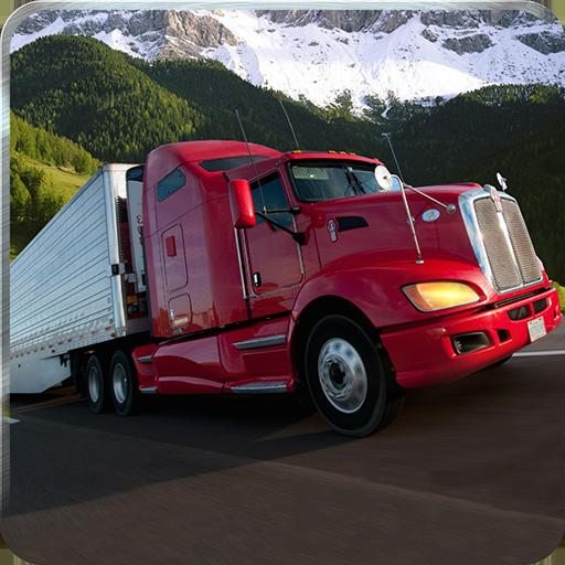 Offroad 4x4 Semi Truck Driver