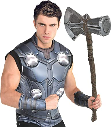 Amazon.com: Traje usted mismo Thor Halloween Kit de ...