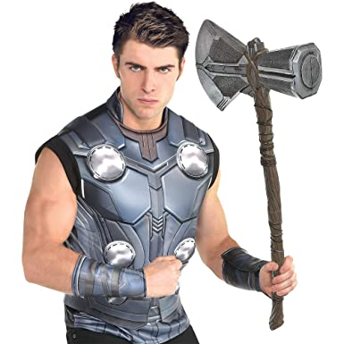Amazoncom Traje Usted Mismo Thor Halloween Kit De