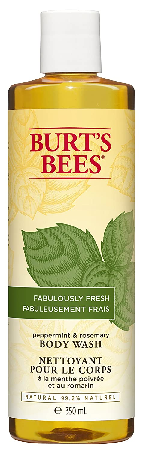Burt's Bees Peppermint and Rosemary Body Wash, 350ml Burt' s Bees 00116-11