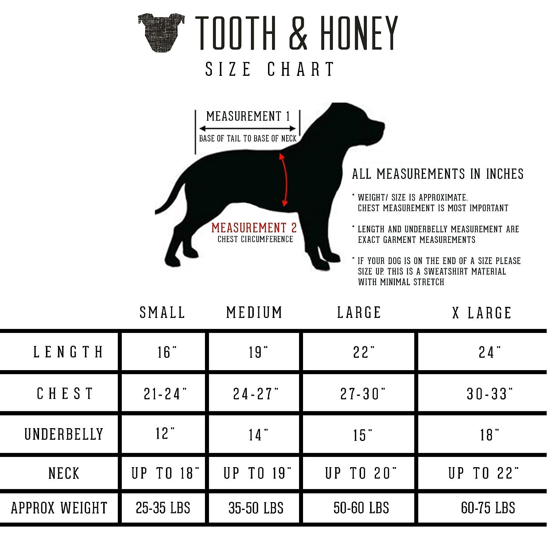 Amazon Tooth Honey Dog Sweater Pitbull Bully Breed