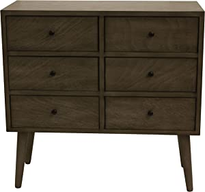 Decor Therapy FR8619 Accent Chest, Resotration Gray