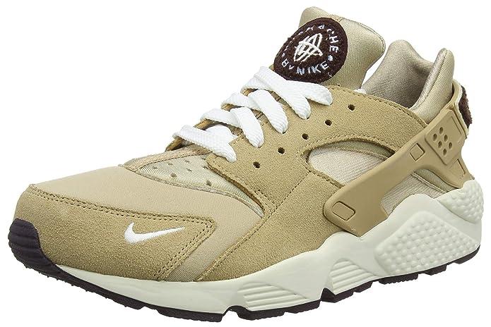 Nike Air Huarache Run Schuhe Herren Beige  (Desert/Sail/Burgundy Ash/Royal Tint)