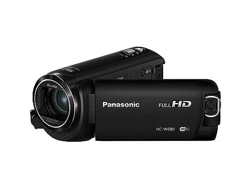 Panasonic HC-W580 Camcorder (2.51 MP, 50 x Zoom, FHD, Wi-Fi, 3 inch LCD) - Black