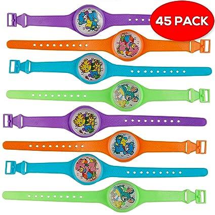 THE TWIDDLERS - 45 Juguetes Rompecabezas Laberinto Reloj para Niños - para Rellenos De Juguete -
