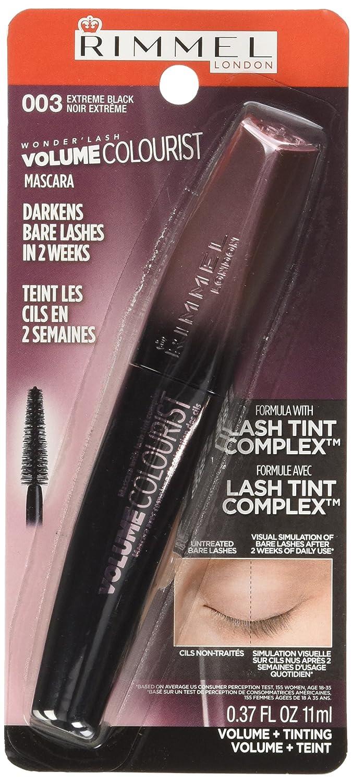 a11fe74bb86 Rimmel London Volume Colourist Mascara with Lash Tint Complex, Extreme Black,  1-Count: Amazon.ca: Beauty