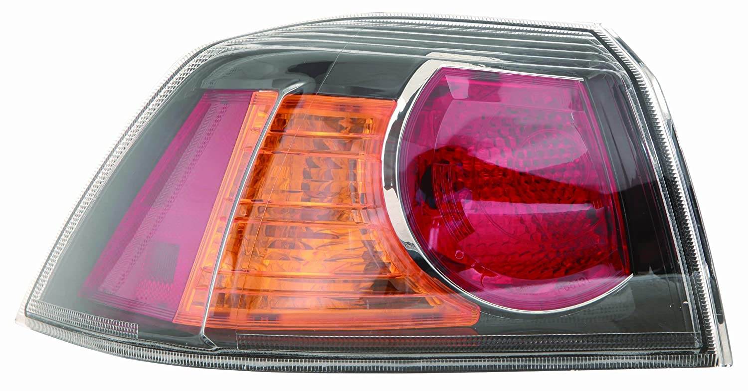 Depo 314-1925R-AS2C Mitsubishi Lancer/Lancer Evolution Passenger Side Replacement Taillight Assembly 02-00-314-1925R-AS2C