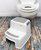 2 Step Stool for Kids and Toddlers (2 Pack) by