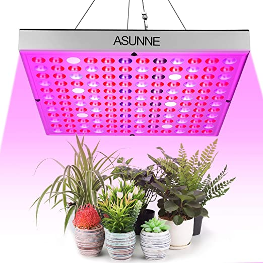 Verduras MFEI Luces de Cultivo LED para Plantas de Interior L/ámpara de Panel de Planta de Escritorio de Espectro Completo con 144 LED 70w Bombilla de Planta para Frutas Flores Invernadero 2020