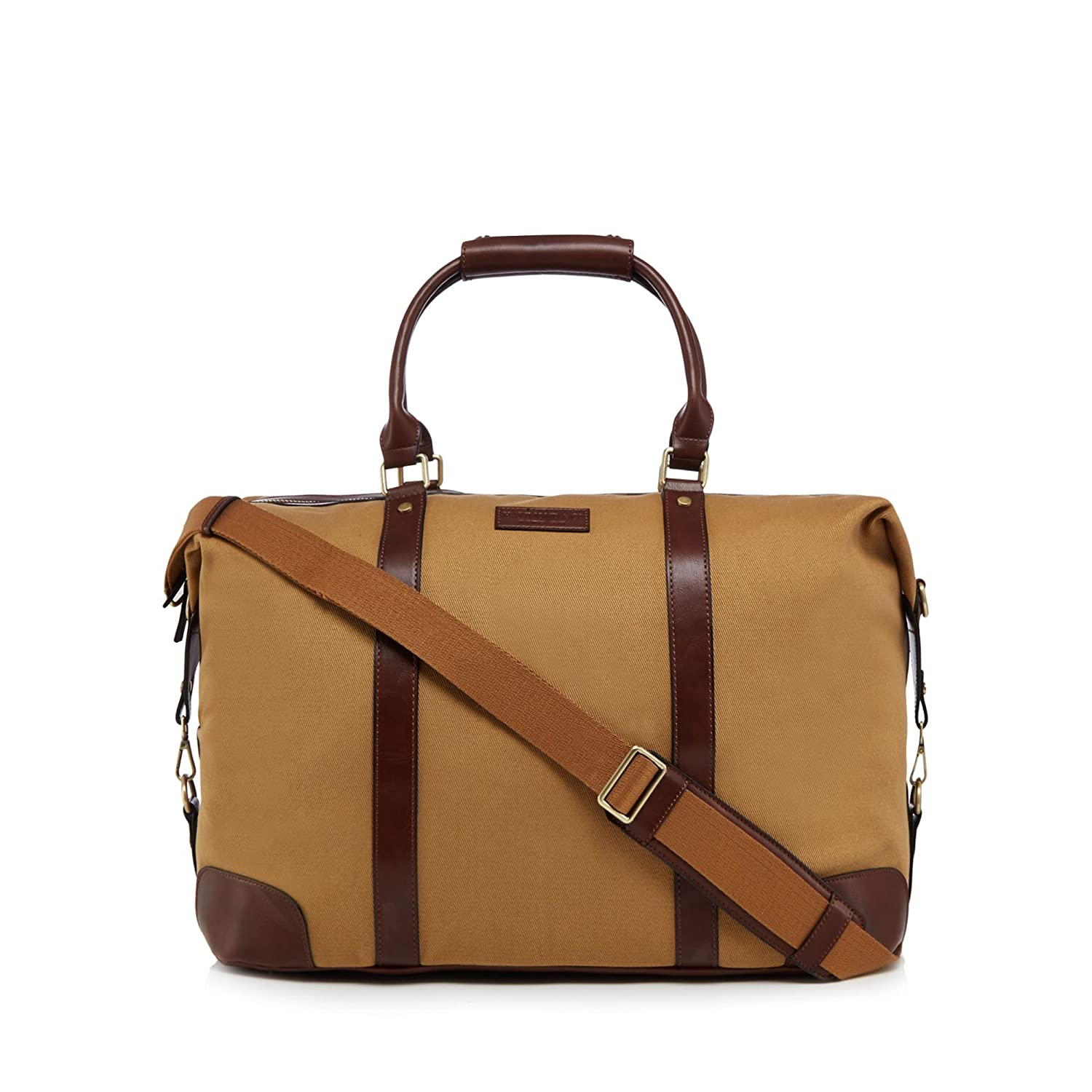 Hammond & Co. By Patrick Grant Men Cream Tan Twill Holdall Bag Debenhams
