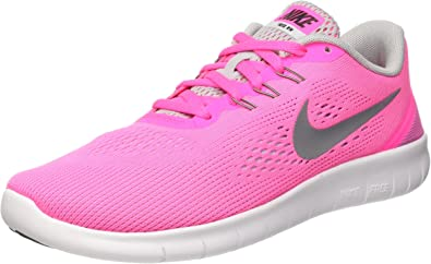 Kids Nike Free RN PSV Amazon.com: Nike Kids Free RN Big Kid Pink Blast/White/Black ...