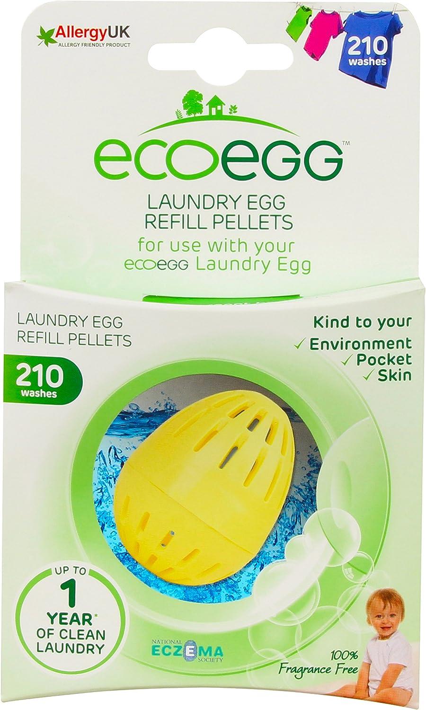 Ecoegg EELER210FF Laundry Egg Refill Fragrance Free, 210 Loads