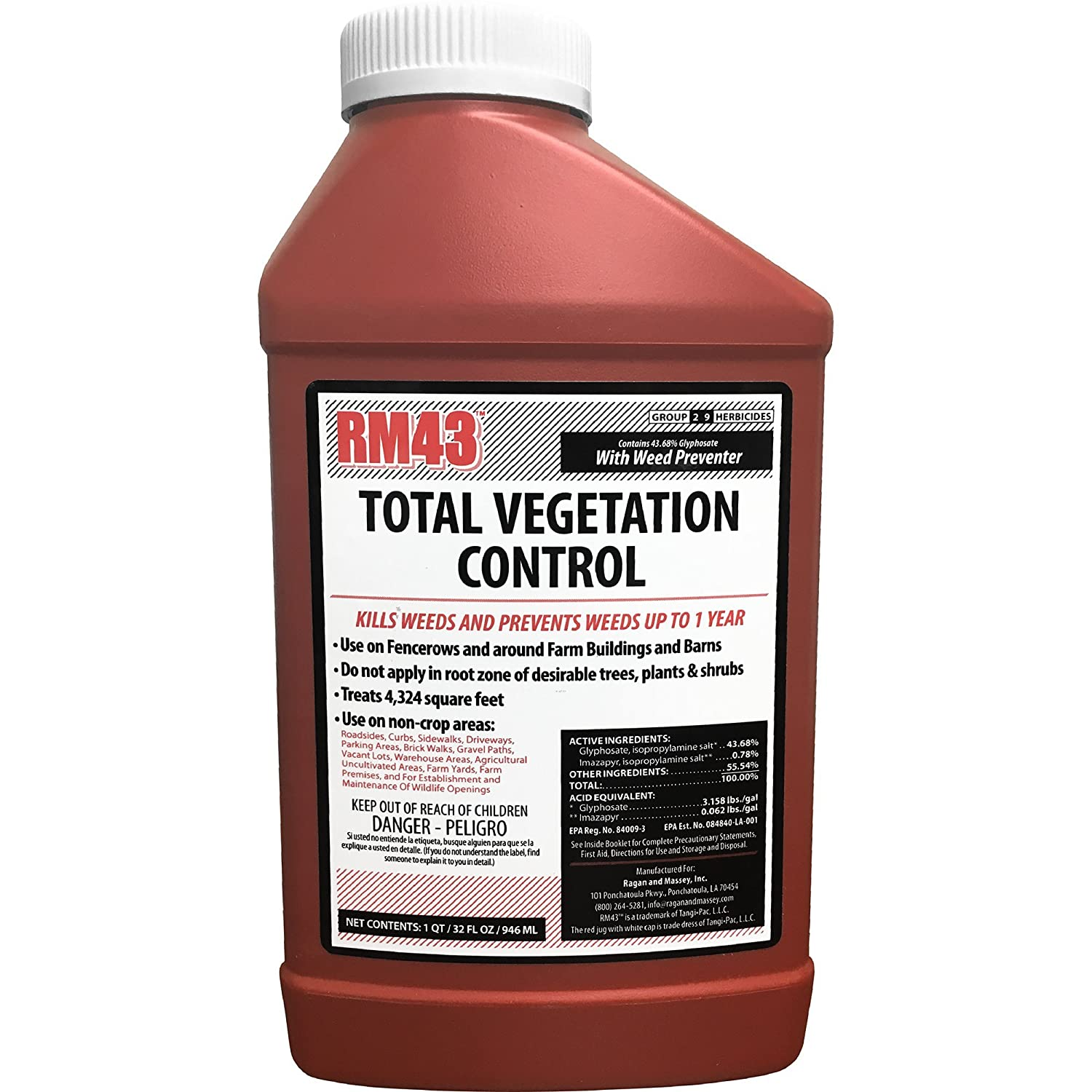 RM43 43-Percent Glyphosate Plus Weed Preventer