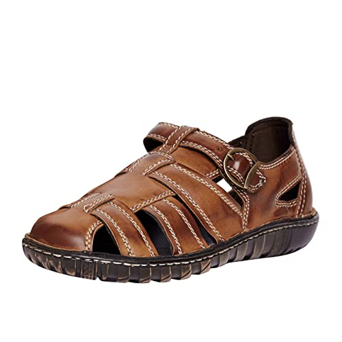 ad1542f493093 Duke Men Sandals 1983571031 Tan Coloured 7  Buy Online at Low Prices in  India - Amazon.in
