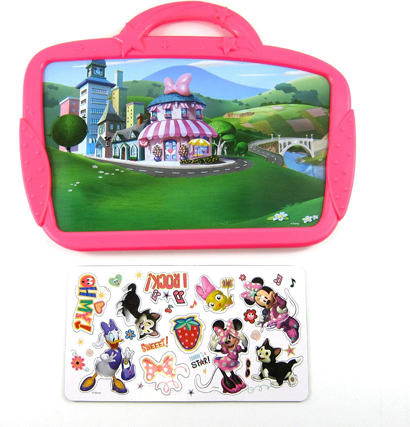 Disney Junior Minnie Mouse Play /& Go Magnetic Storyboard Play Toy Set