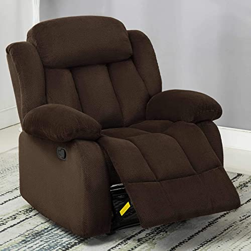 ANJHOME Fabric Recliner Chair