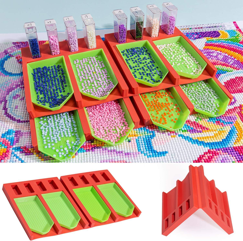 Tray Organizer Beading Storage Tray Point Drill Pen Diamond Painting Kits
