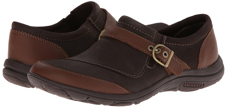6146d134 Amazon.com | Merrell Women's Dassie Buckle Slip-On Shoe, Brown, 5 M ...