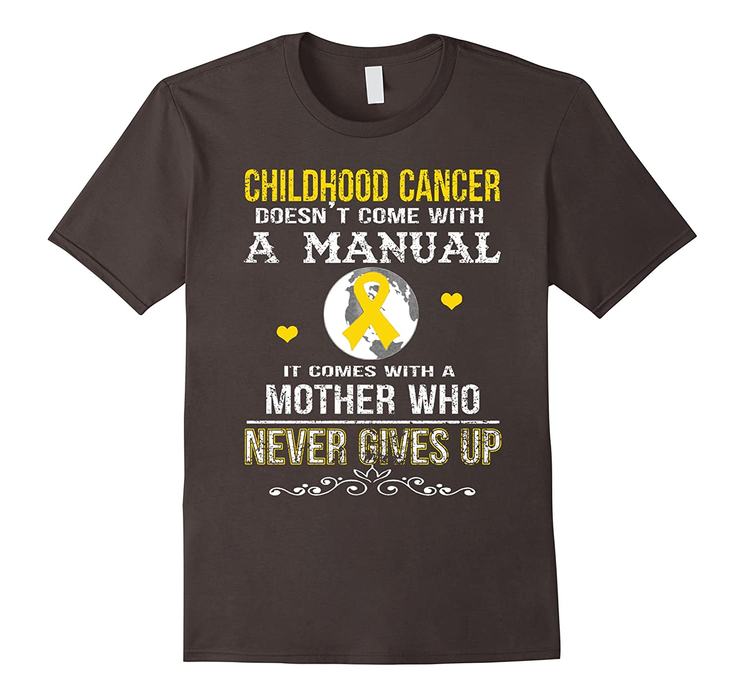 childhood cancer comes with a mother who never gives up
