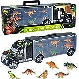 Toyvelt Dinosaurs Transport Car Carrier Truck Toy with Dinosaur Toys Inside - Best Megatoybrand Dinosaur Kids Toy for…