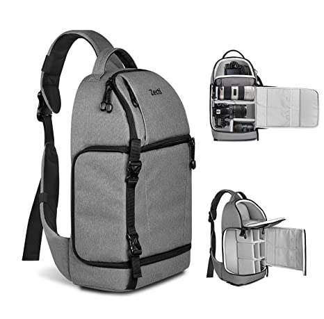 Image Unavailable. Image not available for. Color  Zecti Sling Camera Bag  for DSLR ... 9d88522cd13a4
