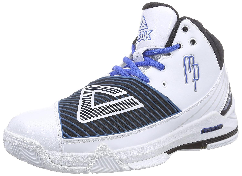 sale retailer 016c7 ff960 ... Peak Sport EuropePEAK Basketballschuh Mickael Pietrus - Zapatos de  Baloncesto Hombre, Color Blanco, Talla ...
