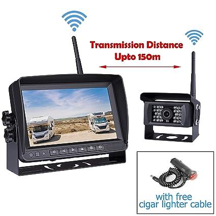9a721d840e Amazon.com  Car Digital Wireless Backup System for Truck RV Camper ...