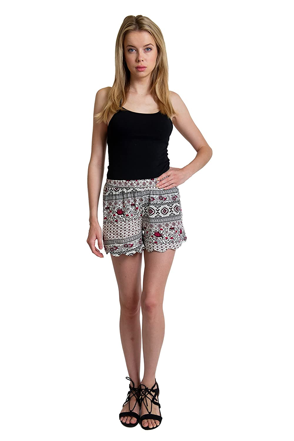 Girl Evolution Soft Shorts,Medium,Multi, 2993-sm