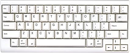 PFU Happy Hacking Keyboard Lite2 for Mac 英語配列 USBキーボード Mac専用モデル ホワイト PD-KB200MA