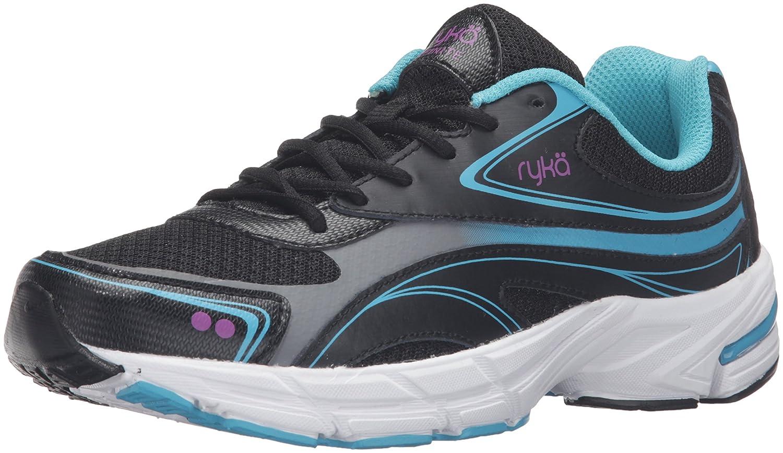 Ryka Women's Infinite Smw Walking Shoe B01BII9C4C 11 B(M) US|Black/Blue