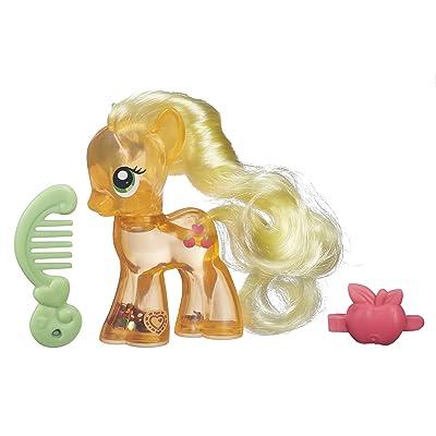 My Little Pony Explore Equestria Water Cuties Applejack Figure: Toys & Games