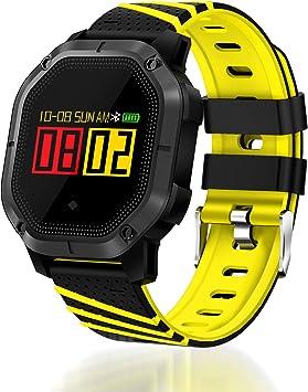 Lantop Waterproof Bluetooth Smart Watch Multi-Function Sport Band Blood Pressure Heart Rate Monitor Running Swimming Fitness Tracker
