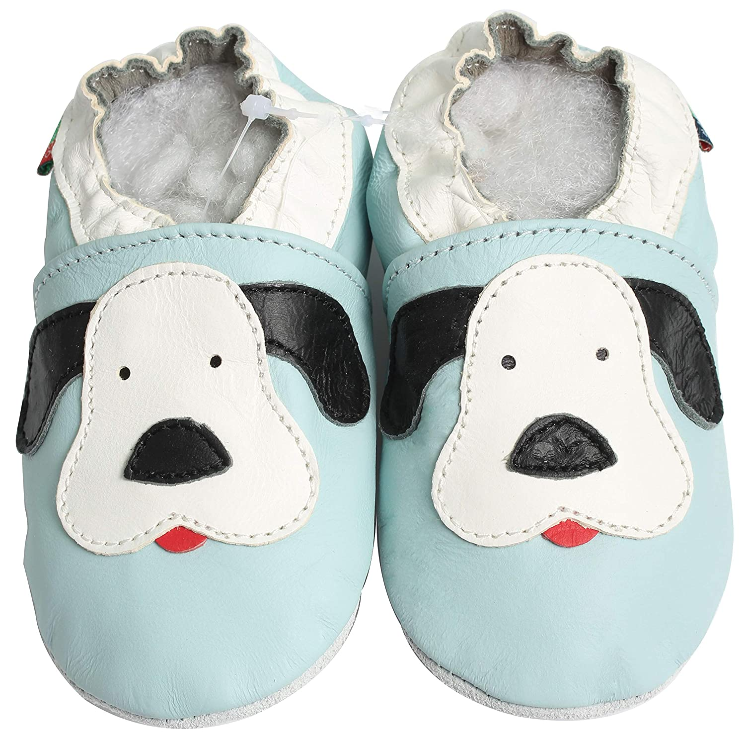 Carozoo Soft Sole Leather Shoes Baby Socks Slippers Sneakers Prewalkers up to 4 Yrs 16 Designs