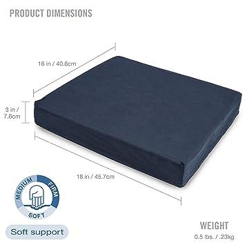 Amazon.com  DMI Polyfoam Wheelchair Seat Cushion 853396d99